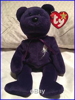 74fb63cd825 100% Authentic Princess Diana beanie baby RARE 1997 ORIGINAL 1st EDITION