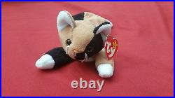 1996 Retired Rare Chip Beanie Baby Collectible Cat TY brand with Tag, NEW