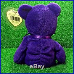c1a10dd296b 1997 Princess Diana Bear Ty Beanie Baby China PVC No Space   RARE Charm  Necklace