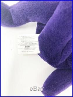 1997 RARE Princess Diana 1st Hand Made Indonesia PVC TY Beanie Baby-No Space