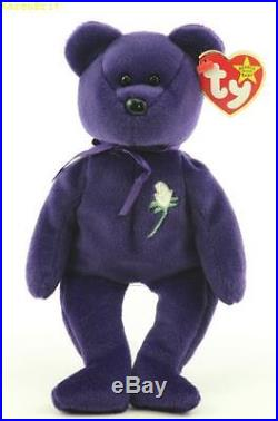 1997 Rare Princess Diana Beanie Baby 1st Edition, Mint Condition /Hand Made