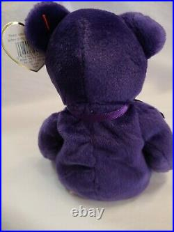 1997 Ty Beanie Baby Princess Diana The Bear, Rare and Retired