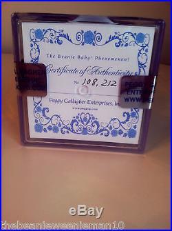 1st EditionPrincess Diana Beanie BabyNO ROSESUPER RAREINDONESIA
