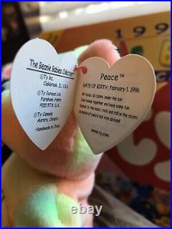 3 Rare Beanie Babies! Multiple Errors