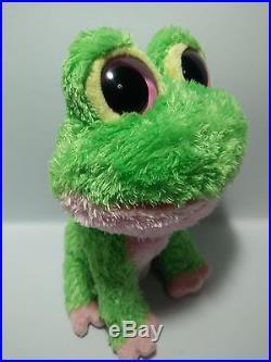 3 Ty Beanie Boos TREASURE KOOKY KIWI frog 6 RARE! No Hang Tag please read