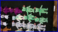 44 Ty Beanie Babies Babys Rare Bear Lot, Wholesale Bulk, Kicks, Mellennium, Tags