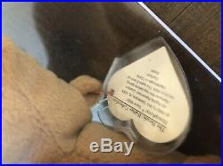 AUTHENTICATED rare Humphrey ty beanie baby 1st gen. Tags 1993 MWMT Quality