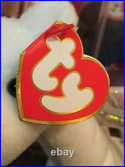 Authentic MAGIC the Dragon Rare KOREAN 3rd/1st Gen Ty Beanie Baby MWMT-MQ