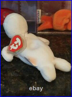 Authentic Rare SEAMORE the Seal 3rd/2nd Generation Ty Beanie Baby MWMT-MQ