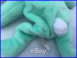 Authentic TY BEANIE BABY HIPPITY Hippity Bunny 1996 Very Rare, With Many Errors