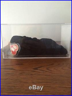 Authenticated 1st Gen Blackie MWMT MQ Ty Beanie Baby Rare