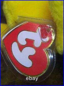 Authenticated Rare BUBBLES the Fish KOREAN 3rd/1st Gen Ty Beanie Baby MWMT-MQ