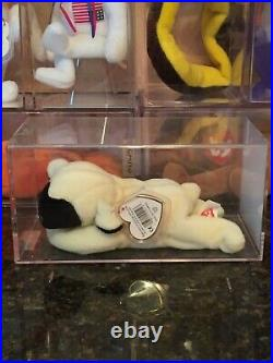 Authenticated Rare Chops the Lamb 3rd/2nd Generation Ty Beanie Baby MWMT-MQ