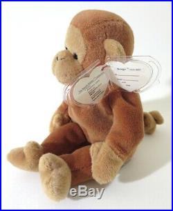Authenticated Ty Beanie Baby 3rd / 1st Gen NANA Pristine, ULTRA RARE & MWMT MQ