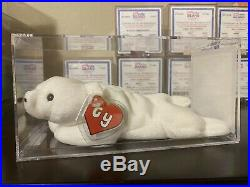 Authenticated Ty Beanie Baby Embroidered Uk Chilly Rare! Mwmt- Mq! 2nd Gen