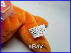 Authenticated Ty Beanie Baby Goldie the Fish Rare 1st / 1st Gen Tag MWMT-MQ