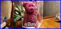 Authenticated Ty Signed Billionaire #2 Beanie Baby Bear KOREAN MWMT RARE