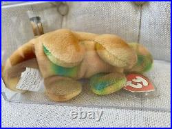 Beanie Baby Dino Lot Rex, Steg, And Bronty ULTRA RARE COLLECTION