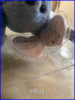 Beanie babies Rare Decade Signed by Ty