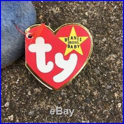 Claude the Crab RARE (retired) Ty Beanie Baby (MWMT)