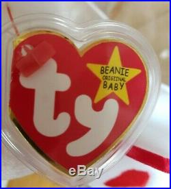 Collectors Must Have! Beanie Baby Valentino With All Rare Errors