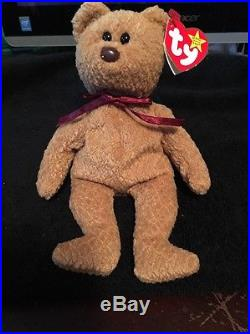 0e9aae8af98 Curly Bear Beanie Baby EXTREMELY RARE 5 ERRORS