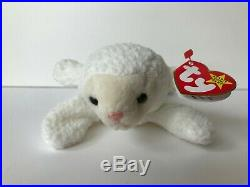 EXTREMELY RARE 1996 Ty Beanie Baby Fleece