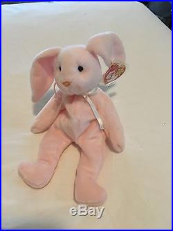 46d06fe61e7 Extremely Rare ORIGINAL 1996 Ty Beanie Baby Hoppity With Errors On Tags