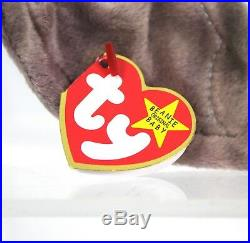 Extremely Rare Ty Beanie Babies Batty Tie-dye Bat Swing Tag 1996 Tush 1998 MWMT