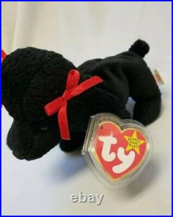 GiGi TY BEANIE BABY WITH MULTIPLE TAG ERRORS RETIRED 300 with UBER RARE EXTRA TAG