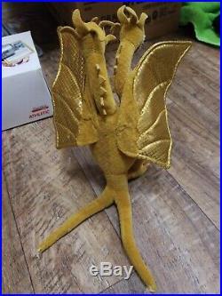 Godzilla, King Gliadorah, and Mothra Rare TY Beanie Baby Collection set