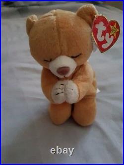 Hope Bear Beanie Baby original rare. Birthday march 23 rd 1998