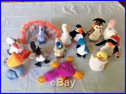Huge Lot 100 Ty Beanie Babies Original Mixed Lot. New, All With Tags! Some Rare