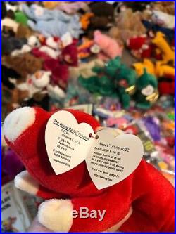 Hundreds Huge Lot Ty Beanie Baby Babies Lots Of 93-00 Rare Bears Tag Errors