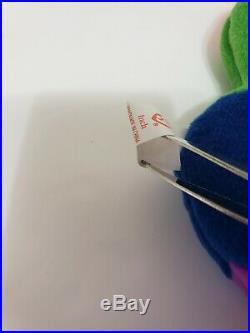 Inch The Worm Original Beanie BabyErrors RareTY 1995 PVC Pellets