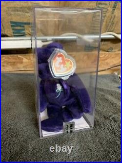 Indonesia Beanie Baby Princess Diana Bear Super Rare First Edition Authenticated