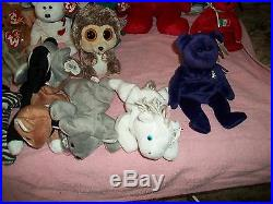 LOT OF 44Ty Beanie Babies-Original Some With Errors Or Collectable Rare Retired