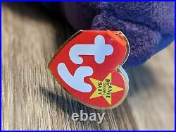 MINT Princess Diana Beanie Baby by Ty, 1st Edition, 1997. RARE Errors