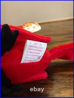Mac the Cardinal Beanie Baby - EXTREMELY RARE