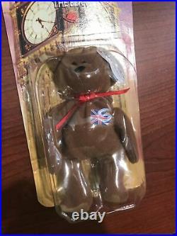 Mcdonalds TY Beanie Baby Britannia The Bear RARE WITH TAG ERRORS L@@k