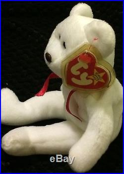 Mint Condition Rare Valentino Beanie Baby with 9 errors