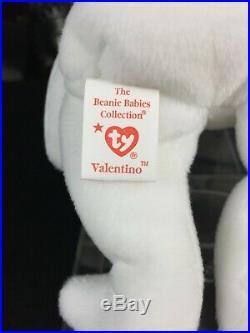 Mint! Valentino the Bear RARE Beanie Babie 1993 with 15 Tag & Body Errors