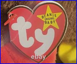 NM/MINT TY Beanie Baby GOBBLES The Turkey VERY RARE DOUBLE WADDLE, Errors P. V. C
