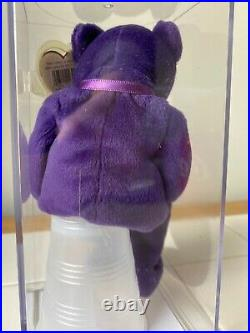 NWT Certified 1st Charity Beanie Baby Princess Diana 1997 RARE Retired. 9