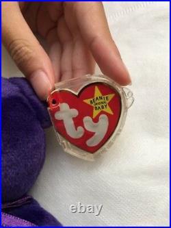 NWT Rare 1997 Mint Princess Diana Beanie Baby PE Made in China Retired