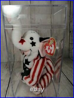NWT Rare Ty Collectible Righty 2000 Beanie Baby Political Elephant With Errors