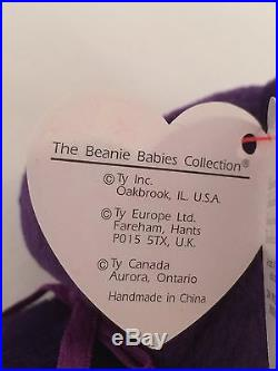 Original 1997 1st Ed. TY Princess Diana Beanie Baby Mint/Museum Condition Rare
