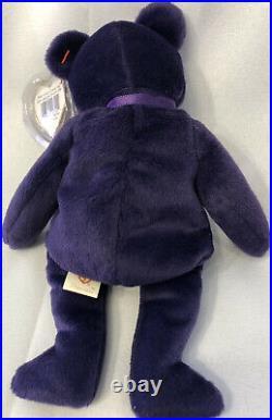 Original 1997 TY Beanie Baby Princess Diana Bear Rare and Retired
