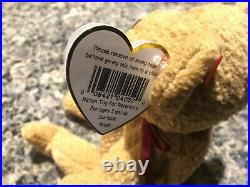 Original RARE Beanie Baby Curly Multiple Errors Collectors Item