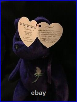 Princess Diana Beanie Baby 1st ed. 1997 VERY RARE COLLECTIBLE! No Space Tag